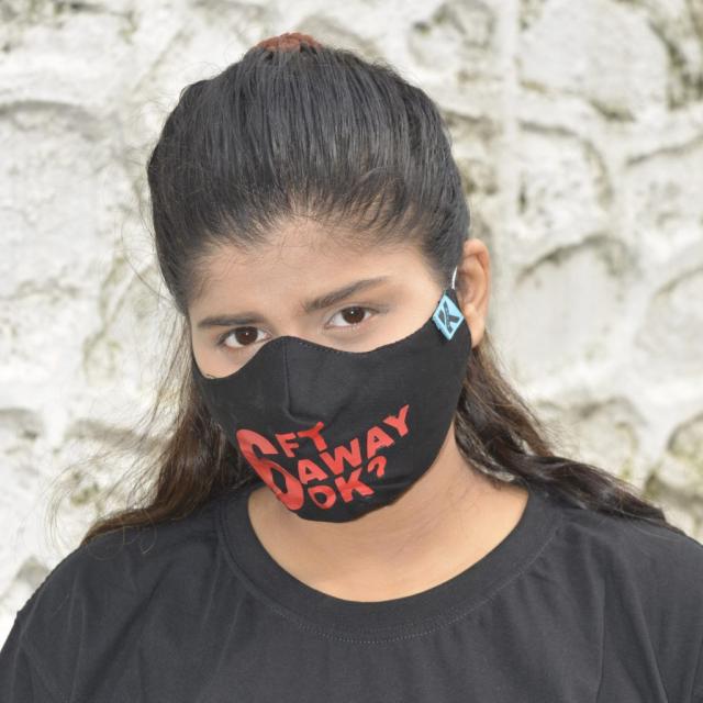 Slogan Mask, Funny Mask, Customize Mask, Cotton Mask, Cheap Best Quality Kavach Mask, Kawach Mask