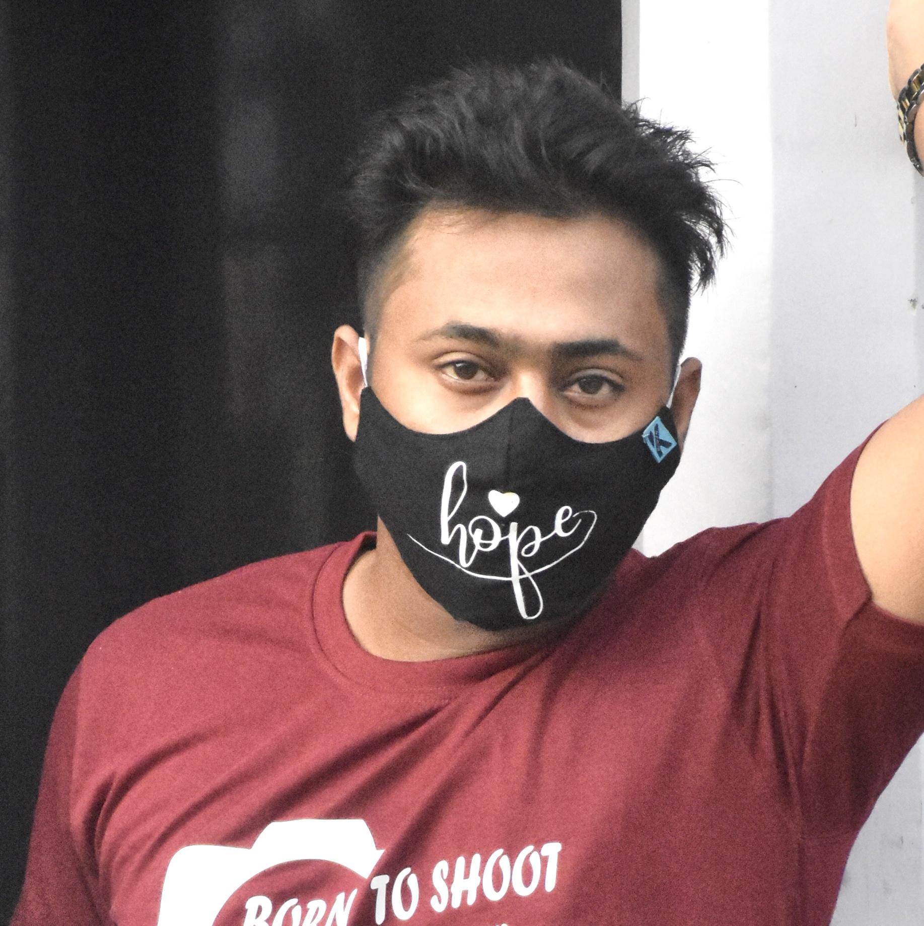 Hope Mask, Slogan Mask at reasonable price