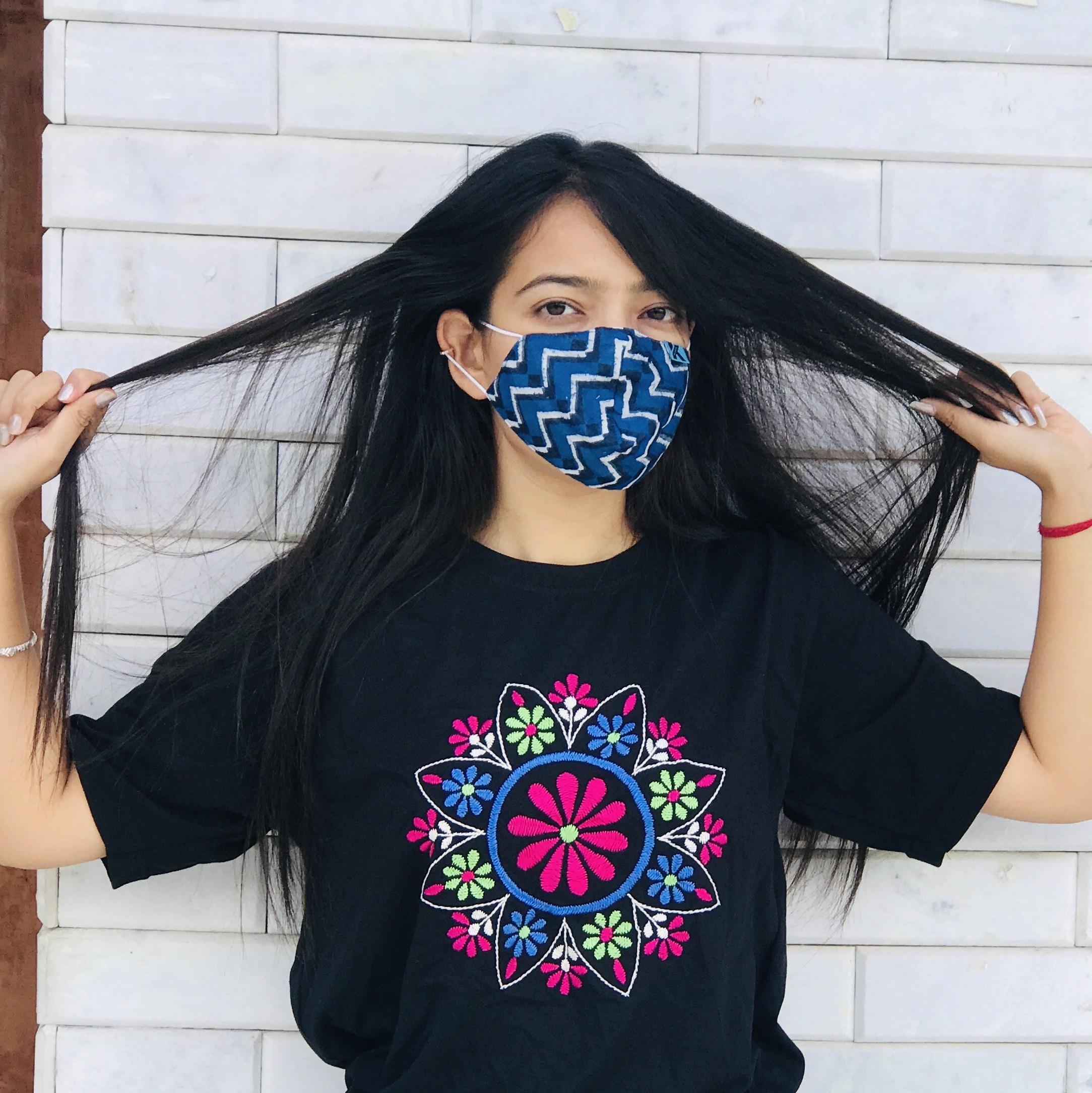 Fashionable Printed Cloth Mask at Cheapest Rate